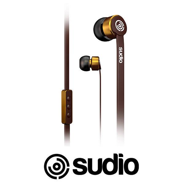 Sudio KLANG 耳道式耳機 扁線 不打結好收納 入耳式 iPhone iOS線控 瑞典精品 金屬材質