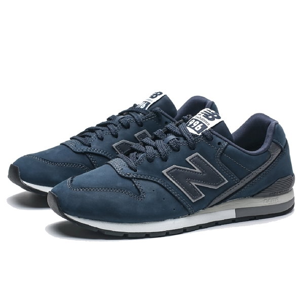 NEW BALANCE 996 深藍麂皮 皮革 拼接 休閒鞋 男女 (布魯克林) CM996RC