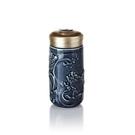 【收藏天地】乾唐軒活瓷系列*躍龍門隨身杯 礦藍釉款∕按摩 舒緩 碧璽 電氣石 養生 健康 負離子