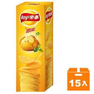 Lay s樂事 意合包 原味洋芋片 60g (15入)/箱【康鄰超市】