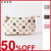 出清 化妝包 花押小包 coen Bear S尺寸 現貨 免運費 日本品牌【coen】