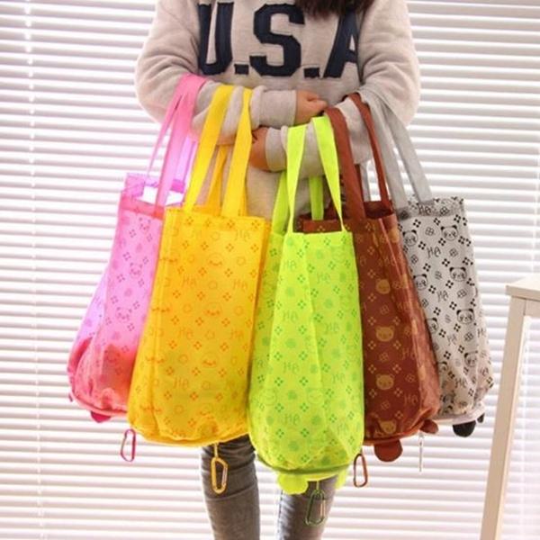 客製化 收納 廣告袋 動物系列 摺疊購物袋 (印LOGO) 環保袋 購物袋 手提袋 防水【塔克】