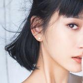 新年鉅惠杏葉耳釘女時尚氣質個性創意百搭韓國簡約金色葉子耳環