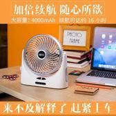 USB風扇靜音家用桌面臺式可充電小風扇 學生宿舍辦公室便攜式【快速出貨】