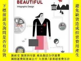 二手書博民逛書店Information罕見Made Beautiful—Info