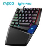 RAPOO V550 RGB 幻彩背光單手遊戲機械鍵盤