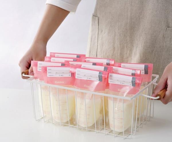 【3盒】Simba 小獅王辛巴 母乳儲存袋60入3盒-粉150ml【佳兒園婦幼館】