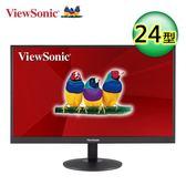 【ViewSonic 優派】24型VA寬螢幕(VA2403-H)