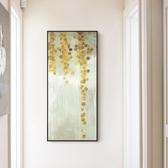 壁畫北歐風格油畫抽象玄關裝飾畫客廳餐廳簡約掛畫壁畫大型豎版款單幅WY