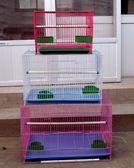 小號金屬鐵絲小型鳥籠子文鳥珍珠鳥鸚鵡相思鐵藝通用鳥籠外帶IGO  初語生活館