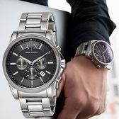 A/X Armani Exchange 亞曼尼 AX2084 簡約線條感三眼腕錶 熱賣中!