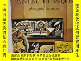 二手書博民逛書店Enamel罕見Painting Techniques:Glad