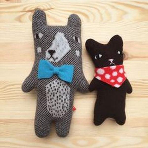 Donna Wilson 莫里斯 Maurice 英國紳士小熊 手工羊毛娃娃