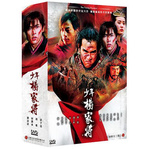 少年楊家將 DVD ( 胡歌/何潤東/陳龍/彭于晏/陳秀雯/翁家明/袁弘/劉詩詩 )