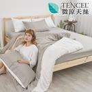 #HT015#絲柔親膚奧地利TENCEL天絲3.5尺單人床包+枕套二件組(不含被套)台灣製/萊賽爾Lyocell