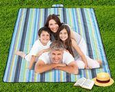 可機洗牛津布野餐墊 戶外春游2*2米帳篷防潮墊便攜公園沙灘墊 易貨居