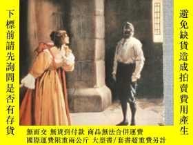 二手書博民逛書店《The罕見man in the iron mask》鐵面人 英