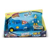《 Disney 迪士尼 》米奇妙妙車隊-唐老鴨變形車╭★ JOYBUS玩具百貨