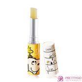 DHC 純橄欖護唇膏-史努比限定版(1.5g)-黃色【美麗購】