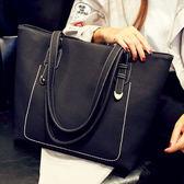 小香風女托特包包新款韓版潮軟手提包單肩女大包大容量時尚簡約百搭  SMY9717【KIKIKOKO】