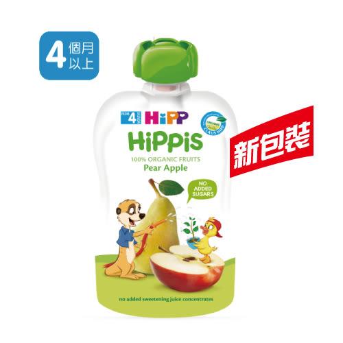 喜寶 HiPP 有機水果趣-西洋梨蘋果 100g