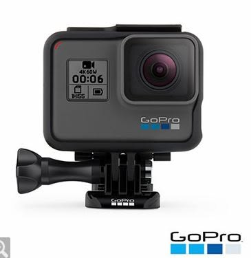 GoPro HERO6 Black運動攝影機 CHDHX-601 單車逍遙騎必備推薦