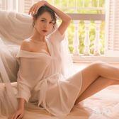 女夏性感情趣睡衣睡裙透明薄沙誘惑情調 BF3814【旅行者】