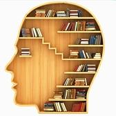書櫃 人臉書架置物架落地實木簡易書架展示架圖書館樣板房軟裝道具擺件 夢藝家