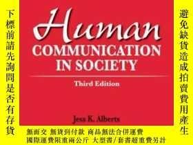 二手書博民逛書店Human罕見Communication In Society