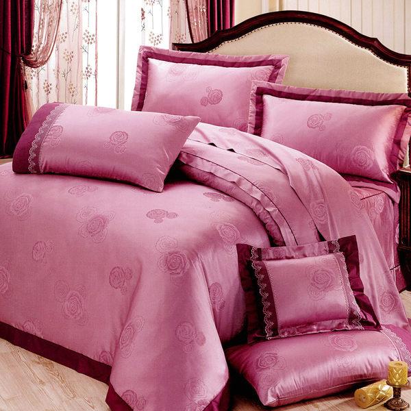 花嫁系列-精梳純棉緹花 兩用被床罩組 雙人八件式-天緣序曲 /RODERLY
