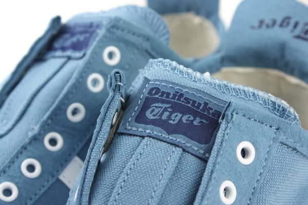 Onitsuka Tiger MEXICO 66 SLIP-ON 運動鞋 帆布 休閒 藍色 男鞋 D3K0N-5601 no264