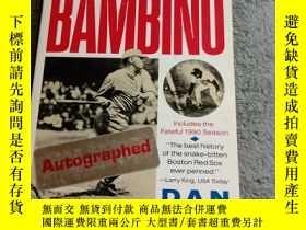 二手書博民逛書店THE罕見CURSE OF THE BAMBINO(英文原版)首頁有簽名 看圖Y165164 PENGUIN