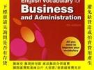 二手書博民逛書店Check罕見Your English Vocabulary For Business And Administr