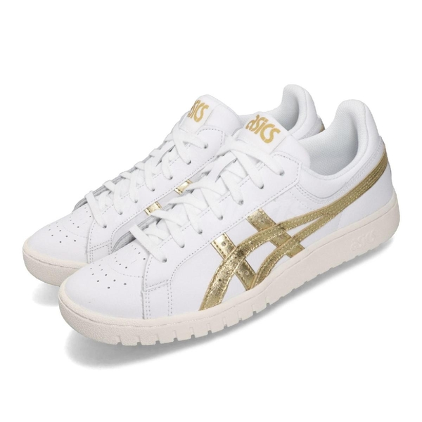 Asics 休閒鞋 Tiger Gel-PTG 白 金 男鞋 女鞋 低筒 經典款 運動鞋【ACS】 1191A280100