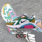 【海外限定】Nike 休閒鞋 Wmns Air Max 200 白 綠 黃 女鞋 運動鞋 【ACS】 AT6175-300