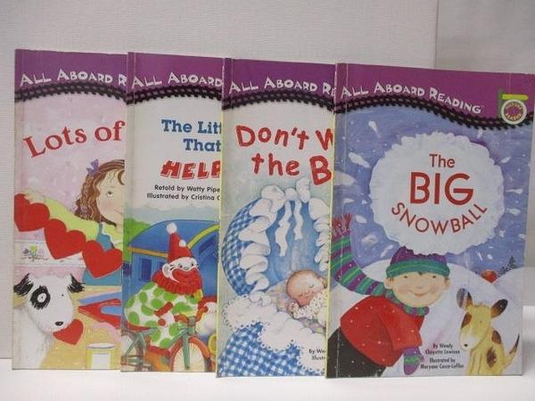 【書寶二手書T7/語言學習_E97】The Big Snowball_Don t Wake the Baby等_4本合售