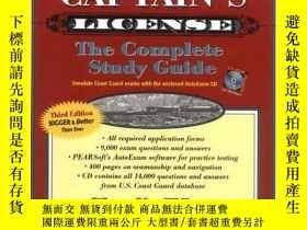 二手書博民逛書店Get罕見Your Captains License, Third Edition-拿到你的船長執照,第三版Y