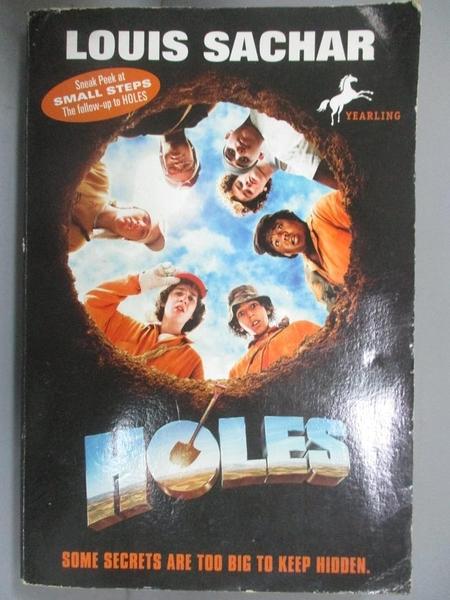【書寶二手書T1/原文小說_NDS】Holes_Sachar, Louis