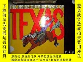 二手書博民逛書店THE罕見INSIDE-OUTSIDE BOOK OF TEXA