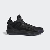 Adidas 男款黑DAME 6 籃球鞋-NO.FV5575