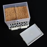小鳥食盒防撒防濺自動下料餵食器虎皮鸚鵡八哥鳥籠喂水飲水器用品ATF 格蘭小舖