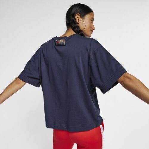 NIKE AS W NSW NSP TOP SS 女裝 短袖 休閒 穿搭 柔軟 舒適 藍【運動世界】AT0567-451