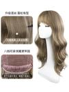 假髮女長髮自然全頭套式