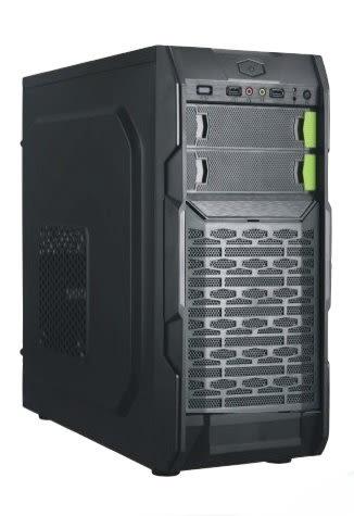 綠雪山 B09  2大 USB3.0+2.0 黑色機殼 主機殼 電腦機殼