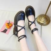 夏新款復古小皮鞋女洛麗塔瑪麗珍日系單鞋洛麗塔lolita仙女鞋 瑪麗蘇