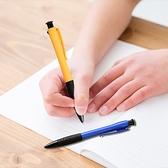 按壓中性筆 原子筆 圓珠筆 按壓式 油性筆 廣告筆 藍筆 0.7mm 輕量 按壓原子筆(1支)【H027】慢思行