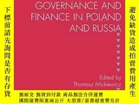 二手書博民逛書店Corporate罕見Governance And Finance In Poland And Russia (s