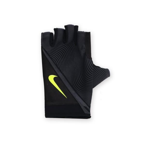 NIKE 男用動態訓練手套(重量訓練 健身 半指手套 免運≡排汗專家≡