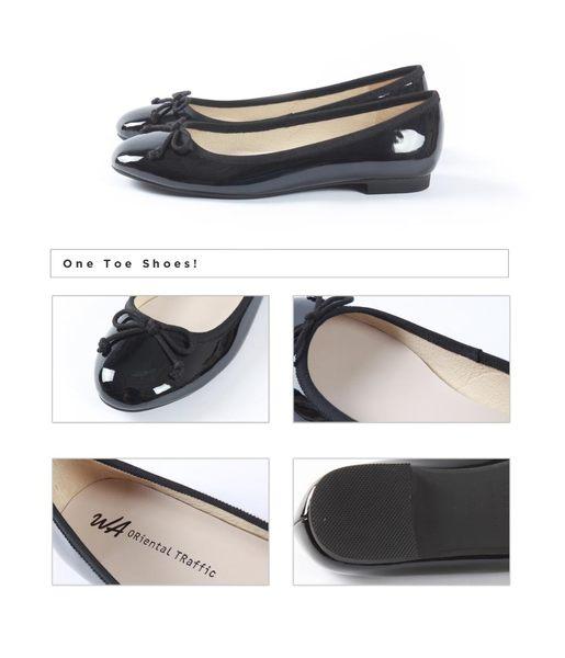經典名品風格芭蕾舞鞋-個性黑(8604_BL)