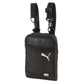 PUMA X 小側背包 全黑 銀logo 隨身包 包包 (布魯克林) 07692001